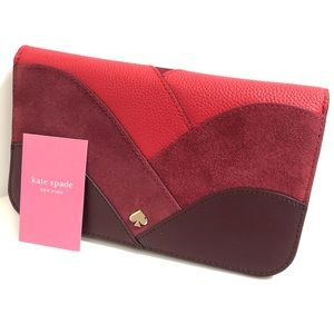 Kate Spade Medium Clutch Wallet Nadine Patchwork
